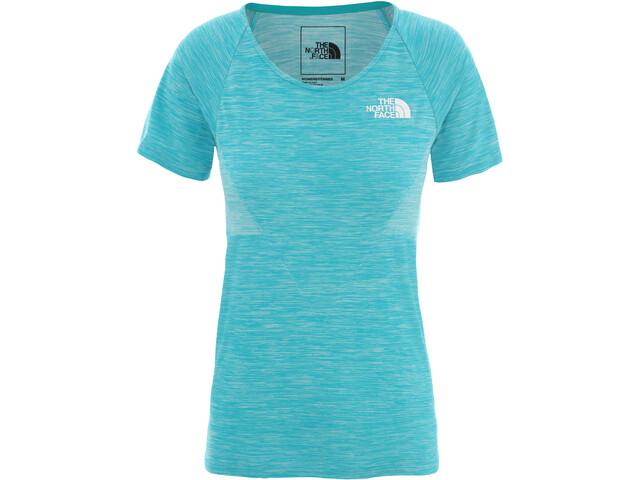 The North Face Impendor Seamless T-Shirt Damen jaiden green light heather
